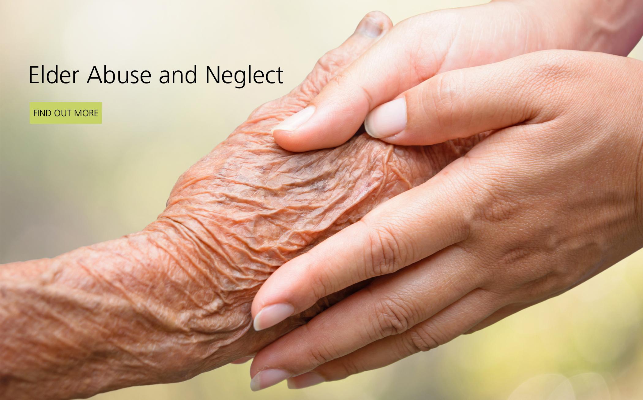 Attorney Fighting Elder Abuse